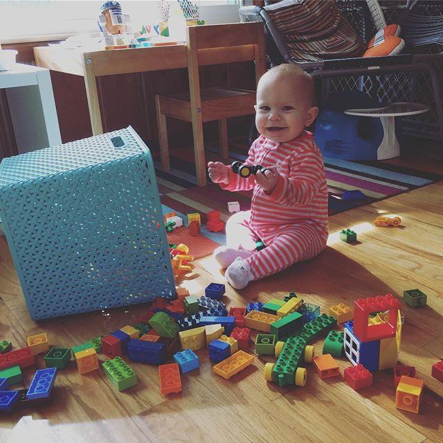 Instagram: Lego girl.